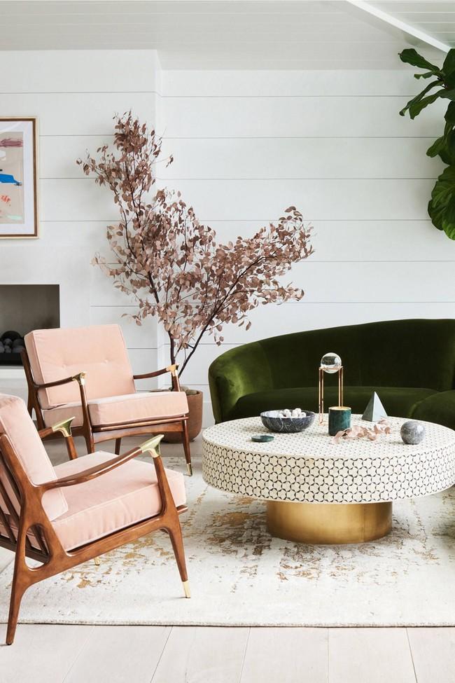 9 ý tưởng siêu tuyệt vời dành cho phòng khách cổ điển khiến bạn muốn lịm tim - Ảnh 2.