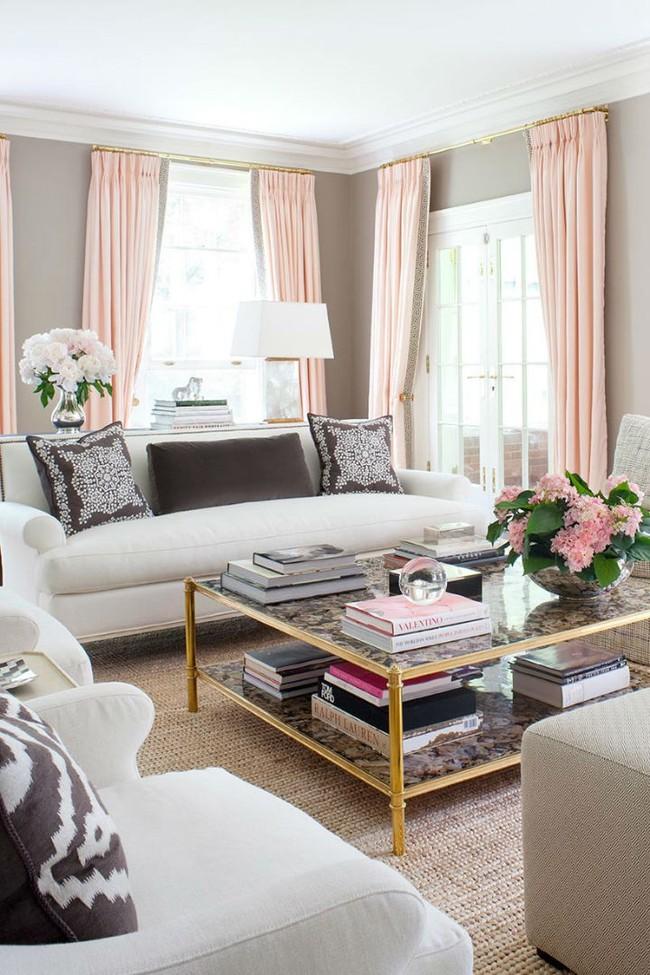 9 ý tưởng siêu tuyệt vời dành cho phòng khách cổ điển khiến bạn muốn lịm tim - Ảnh 4.