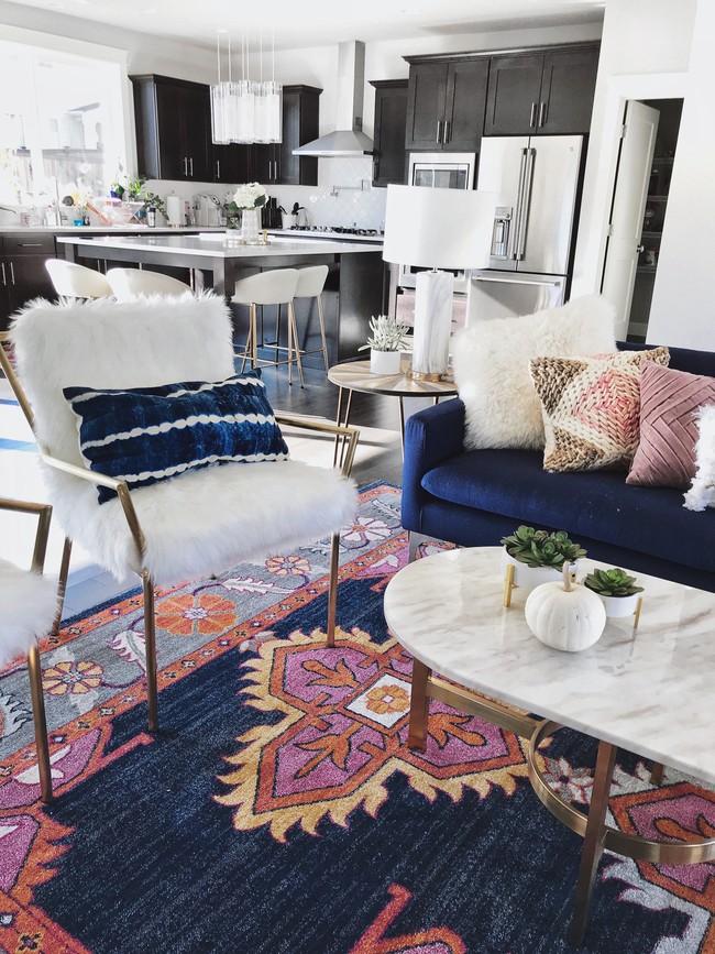 9 ý tưởng siêu tuyệt vời dành cho phòng khách cổ điển khiến bạn muốn lịm tim - Ảnh 7.