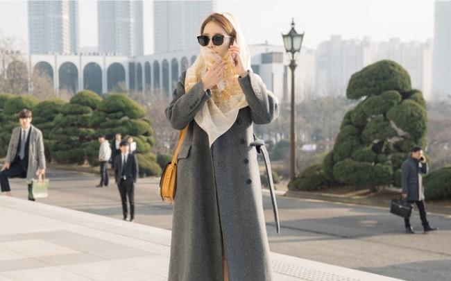 Yoo In Na quấn khăn kín mít, xuất hiện đầy hài hước trong phim mới - Ảnh 1.