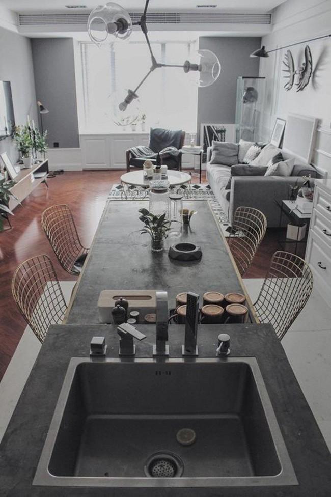 Chàng trai cung Xử Nữ khiến ai cũng trầm trồ khen ngợi vì có giải pháp thiết kế thông minh cho căn hộ 94m² - Ảnh 8.