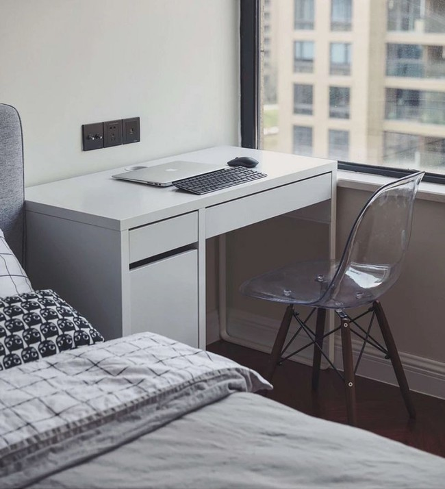 Chàng trai cung Xử Nữ khiến ai cũng trầm trồ khen ngợi vì có giải pháp thiết kế thông minh cho căn hộ 94m² - Ảnh 18.