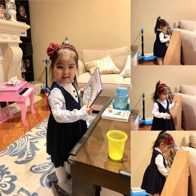 Bé mới 2,5 tuổi đã biết tự dọn đồ chơi, mẹ Việt ở Mỹ bật mí tuyệt chiêu cực độc để rèn con - Ảnh 4.