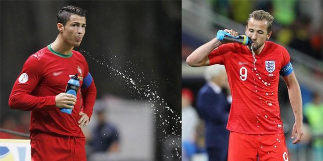 Tại sao cầu thủ liên tục súc miệng và nhổ nước ra sân giữa trận đấu - Ảnh 1.