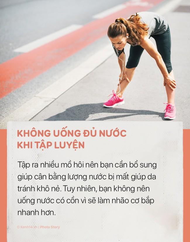 Tập thể dục rất tốt cho cơ thể nhưng hãy chú ý những sai lầm sau để tránh gây hại cho sức khoẻ và khiến bạn già đi trước tuổi - Ảnh 8.