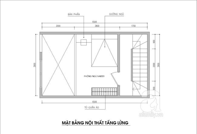 Thiết kế nhà ống: Tư vấn thiết kế nhà ống có 3 phòng ngủ thoáng mát - Ảnh 2.