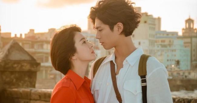 Park Bo Gum thừa nhận mỗi lần tình tứ với Song Hye Kyo đều khiến anh xúc động - Ảnh 2.