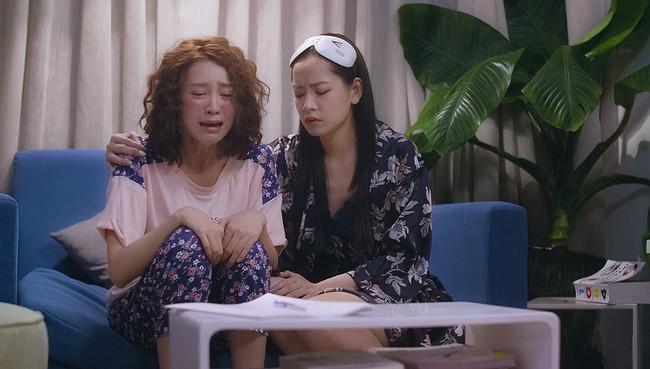 Mối tình đầu của tôi: Chi Pu bất lực nhìn Lan Ngọc khóc lóc vật vã vì lụy tình  - Ảnh 5.