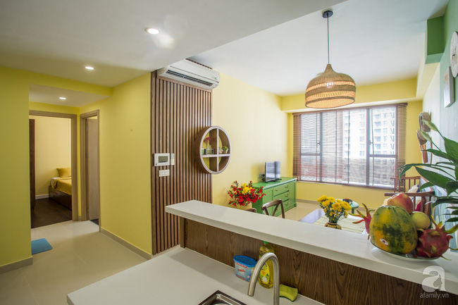 Căn hộ 70m² đặc biệt gây ấn tượng khi được thiết kế đậm chất đồng quê Việt ở quận 4, TP. HCM - Ảnh 7.