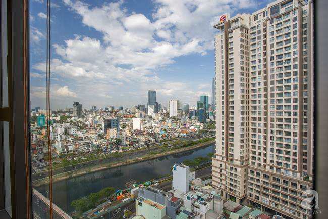 Căn hộ 70m² đặc biệt gây ấn tượng khi được thiết kế đậm chất đồng quê Việt ở quận 4, TP. HCM - Ảnh 1.