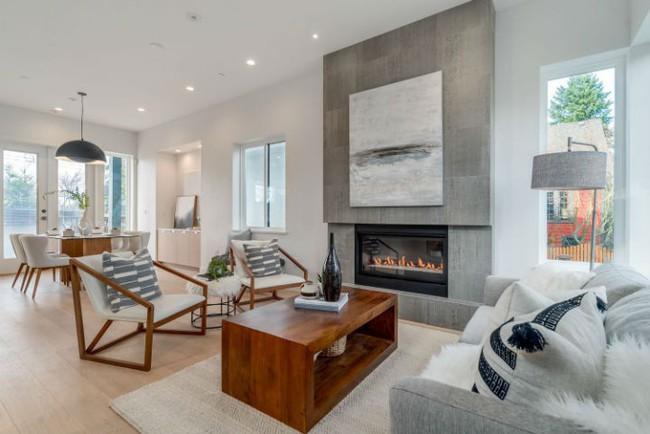 Thiết kế nhà tối giản dành cho gia đình đông người thời hiện đại chuẩn không cần chỉnh - Ảnh 3.