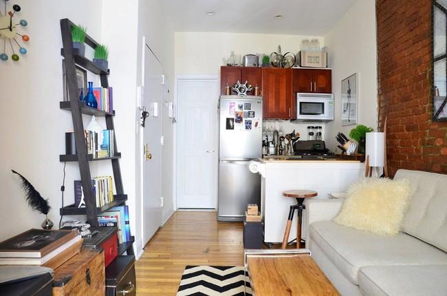 6 cách tận dụng triệt để không gian nhỏ siêu xinh chỉ nhờ các đồ dùng nội thất đa năng  - Ảnh 3.