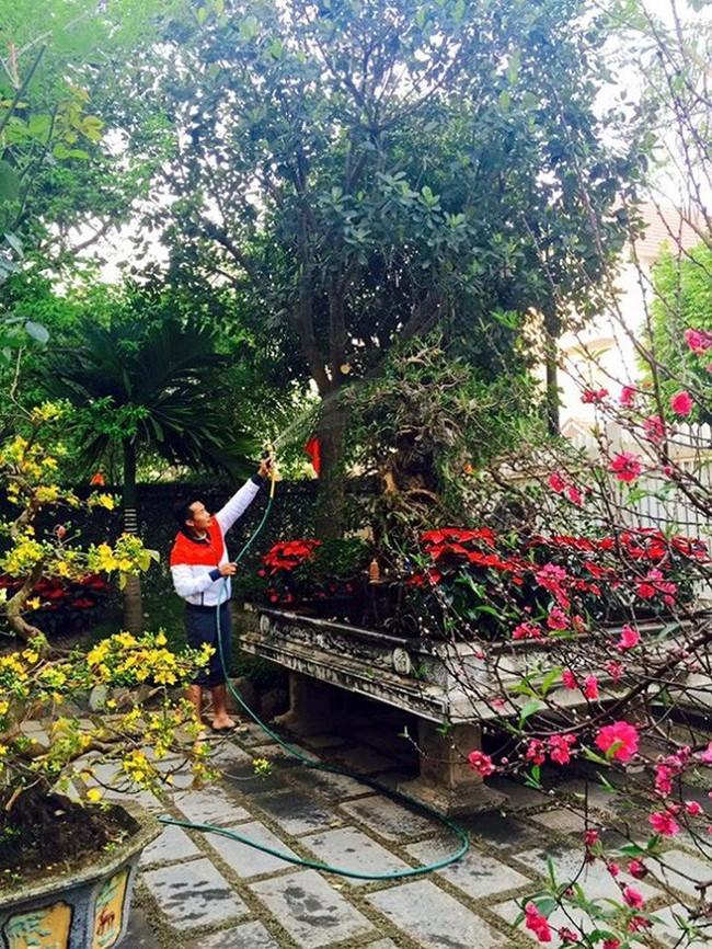 Ngắm những ngôi nhà tiền tỷ của sao Việt lung linh khoe đào quất đón Tết Nguyên Đán - Ảnh 26.