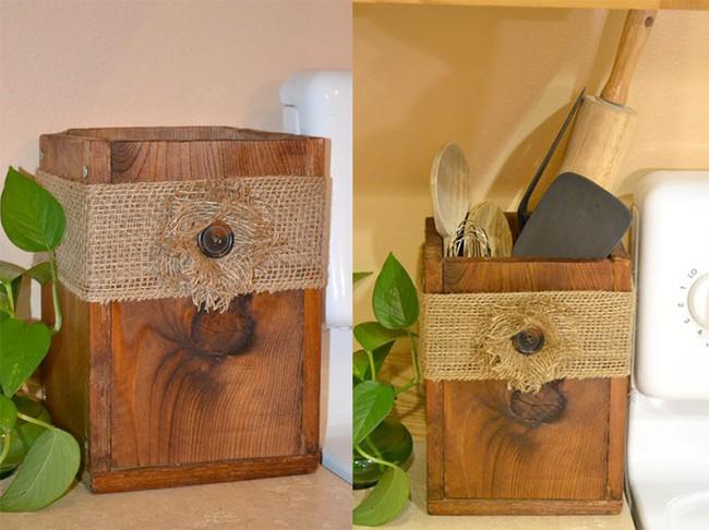 Tận dụng đồ cũ để trang trí cho căn bếp thêm ấn tượng dịp năm mới - Ảnh 2.