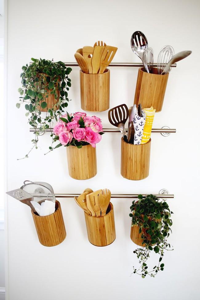 Tận dụng đồ cũ để trang trí cho căn bếp thêm ấn tượng dịp năm mới - Ảnh 3.