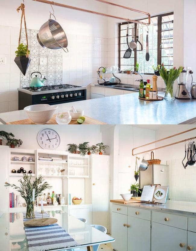 Tận dụng đồ cũ để trang trí cho căn bếp thêm ấn tượng dịp năm mới - Ảnh 11.