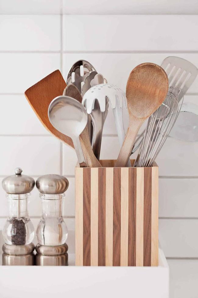 Tận dụng đồ cũ để trang trí cho căn bếp thêm ấn tượng dịp năm mới - Ảnh 13.