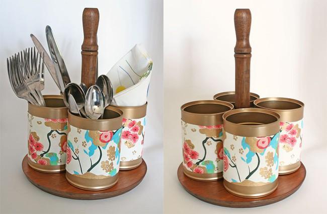 Tận dụng đồ cũ để trang trí cho căn bếp thêm ấn tượng dịp năm mới - Ảnh 14.
