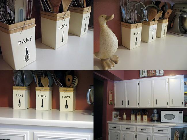 Tận dụng đồ cũ để trang trí cho căn bếp thêm ấn tượng dịp năm mới - Ảnh 16.