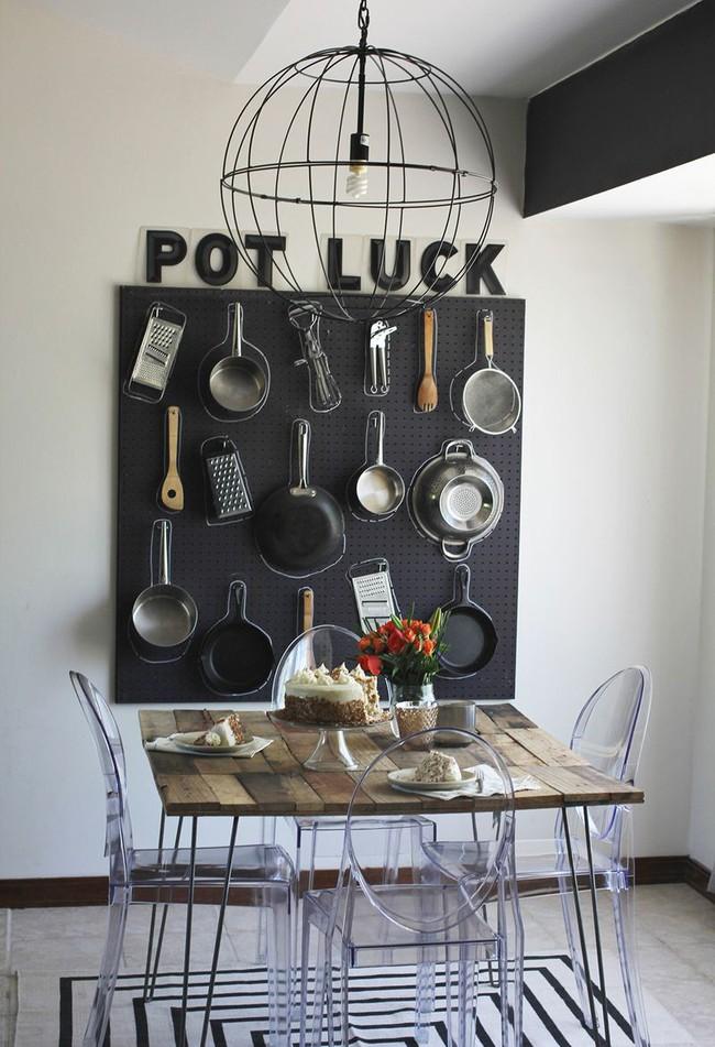Tận dụng đồ cũ để trang trí cho căn bếp thêm ấn tượng dịp năm mới - Ảnh 19.