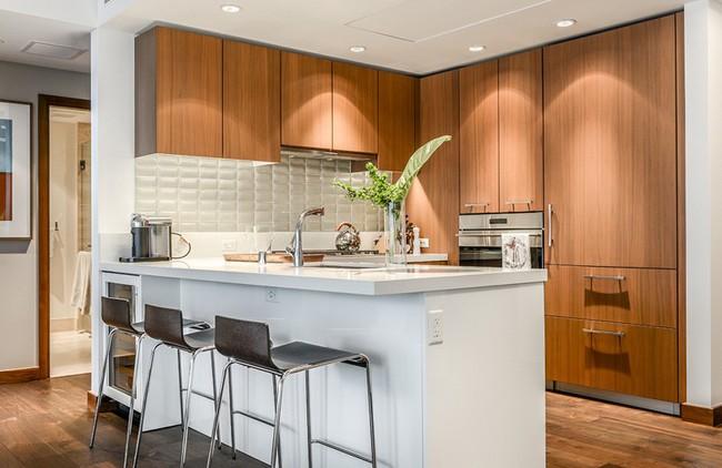 10 góc bếp nhỏ xinh được decor sáng tạo dành cho những căn hộ có diện tích khiêm tốn - Ảnh 7.