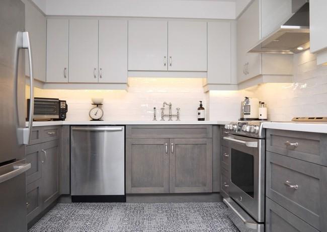10 thiết kế bếp nhỏ đẹp xuất sắc chứng minh rằng: Diện tích không quan trọng, quan trọng là bạn sắp xếp chúng ra sao - Ảnh 1.