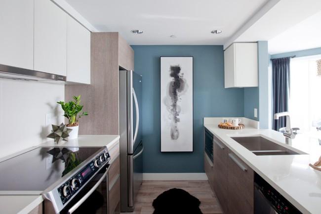 10 thiết kế bếp nhỏ đẹp xuất sắc chứng minh rằng: Diện tích không quan trọng, quan trọng là bạn sắp xếp chúng ra sao - Ảnh 5.