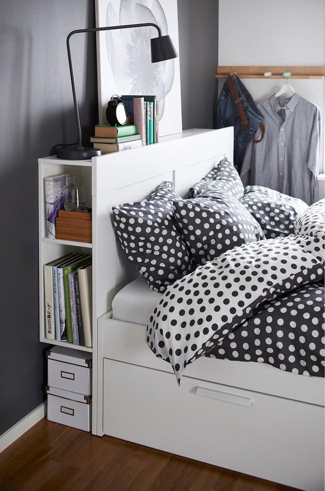 8 món nội thất có giá rẻ bất ngờ bạn có thể mua để lưu trữ tối đa cho phòng ngủ có diện tích nhỏ - Ảnh 3.