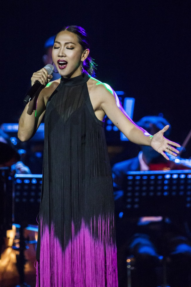 Sau đổ vỡ hôn nhân, Hồng Nhung vẫn đẹp nồng nàn và hát tình ca say đắm thế này - Ảnh 9.