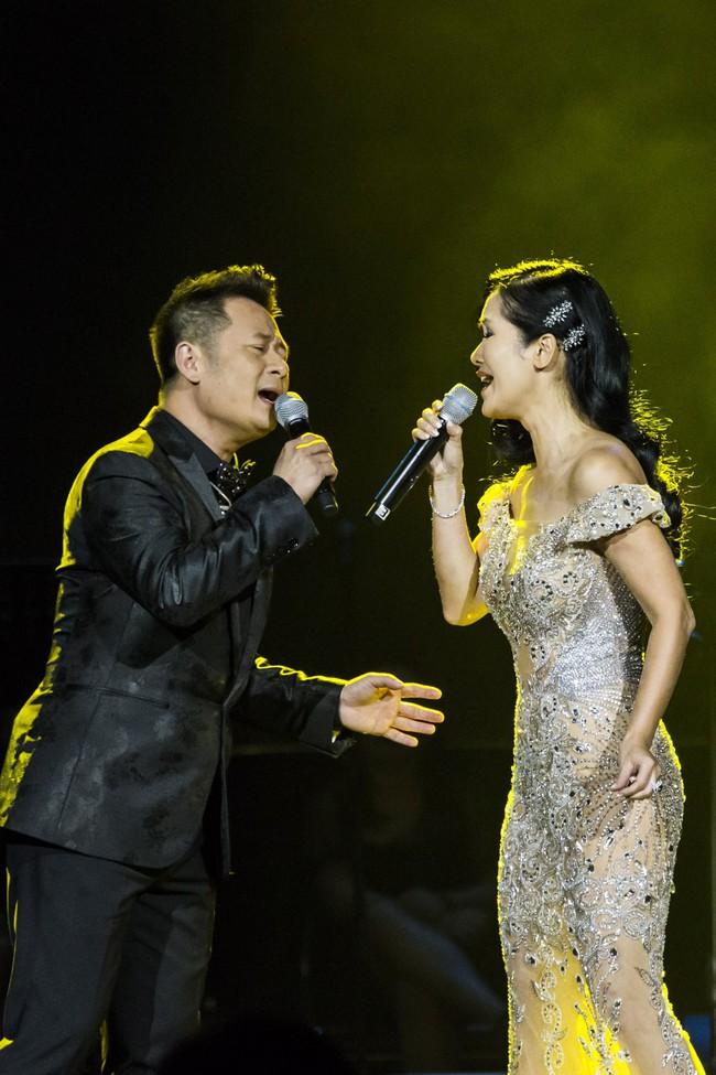 Sau đổ vỡ hôn nhân, Hồng Nhung vẫn đẹp nồng nàn và hát tình ca say đắm thế này - Ảnh 2.