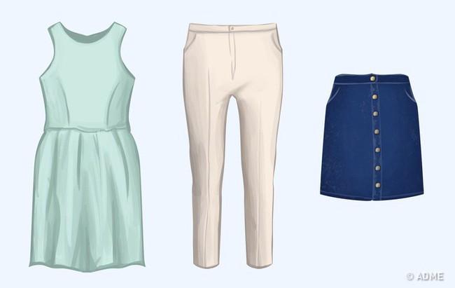 5 mẹo chọn trang phục cực đơn giản giúp chị em khỏi đau đầu suy nghĩ vì không có gì để mặc - Ảnh 3.