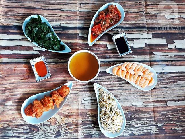 Tham khảo ngay thực đơn cơm tối 5 món ngon - đẹp giá chỉ 90k mẹ 8x Hải Phòng chia sẻ - Ảnh 6.