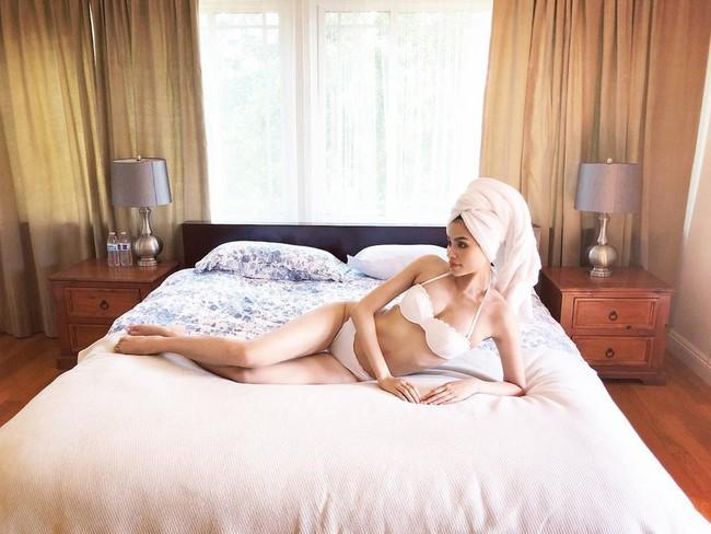 Biệt thự triệu đô màu trắng sang trọng của Hoa hậu Phạm Hương tại Los Angeles, Mỹ - Ảnh 6.
