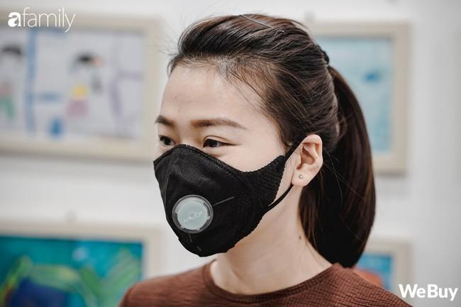 Review nhanh 4 loại khẩu trang chống bụi PM2.5 trên thị trường, giá từ 20.000 đồng đến 800.000 đồng  - Ảnh 5.