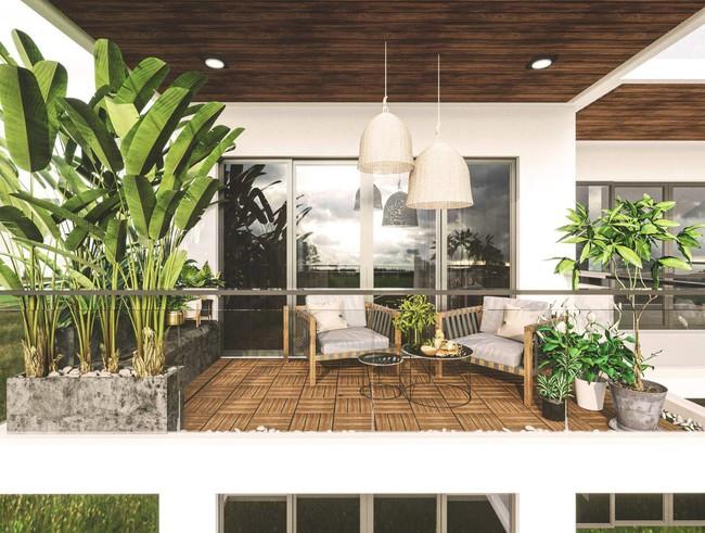 Tư vấn thiết kế nhà 3,5 tầng trên mảnh đất bị xéo với chi phí hơn 4 trăm triệu - Ảnh 14.