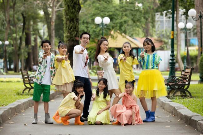 Phạm Quỳnh Anh, Dương Khắc Linh cùng team The Voice Kids thực hiện MV kỷ niệm đầy ý nghĩa - Ảnh 2.