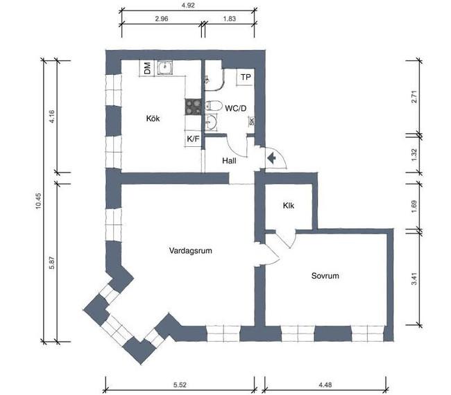 Căn hộ rộng 66m2 sáng bừng nhờ cách trang trí nhà khéo léo cùng những gam màu cực sang chảnh - Ảnh 30.