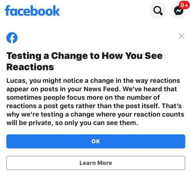 """Facebook thí điểm tắt """"Like"""" trên các page lớn, tạm biệt những """"ngón cái từ thiện"""" của hội ban phát like dạo - Ảnh 2."""
