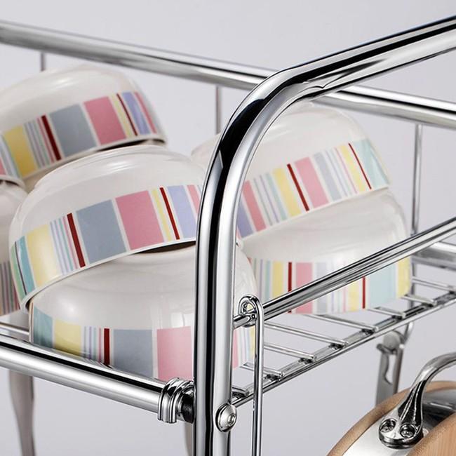Một phụ kiện siêu thông minh cho khu vực bồn rửa sẽ khiến bà nội trợ nào cũng thích mê vì giúp bát đĩa luôn khô cong, sạch sẽ - Ảnh 13.