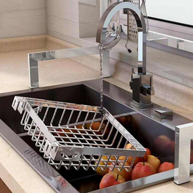 Một phụ kiện siêu thông minh cho khu vực bồn rửa sẽ khiến bà nội trợ nào cũng thích mê vì giúp bát đĩa luôn khô cong, sạch sẽ - Ảnh 17.