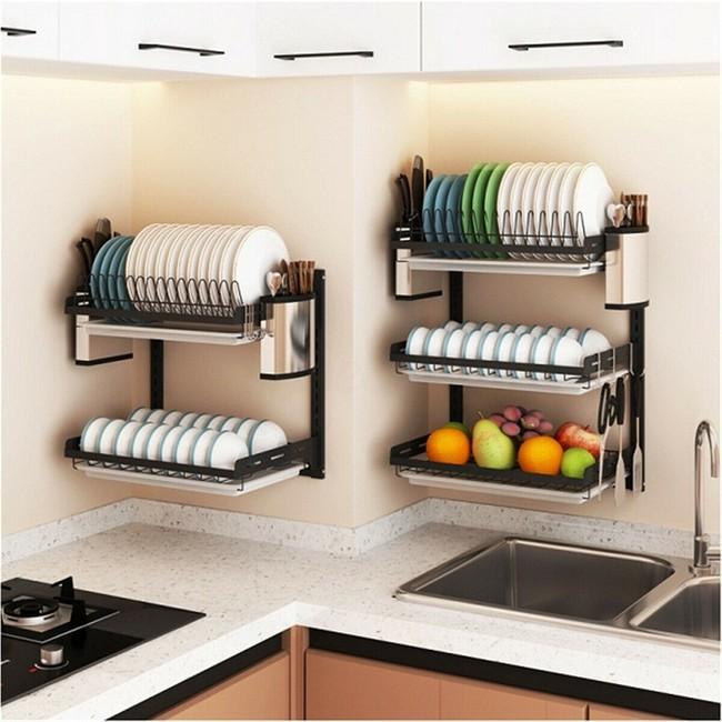 Một phụ kiện siêu thông minh cho khu vực bồn rửa sẽ khiến bà nội trợ nào cũng thích mê vì giúp bát đĩa luôn khô cong, sạch sẽ - Ảnh 21.