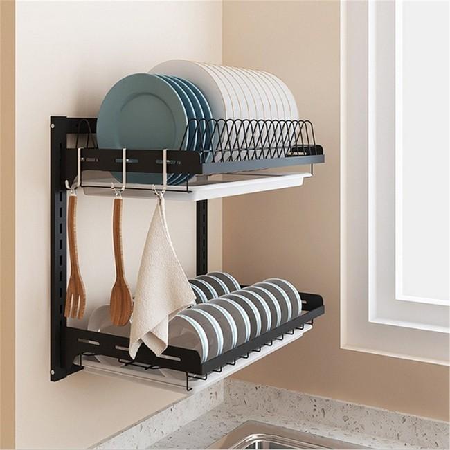 Một phụ kiện siêu thông minh cho khu vực bồn rửa sẽ khiến bà nội trợ nào cũng thích mê vì giúp bát đĩa luôn khô cong, sạch sẽ - Ảnh 22.
