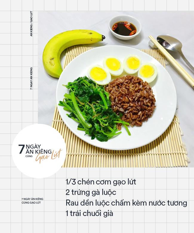 7 ngày ăn kiêng giảm cân với 7 thực đơn gạo lứt ngon - sạch - lành mạnh - Ảnh 1.