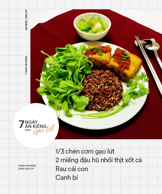7 ngày ăn kiêng giảm cân với 7 thực đơn gạo lứt ngon - sạch - lành mạnh - Ảnh 3.