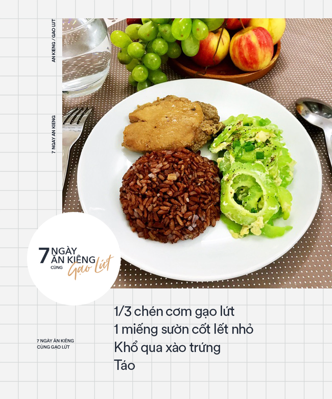 7 ngày ăn kiêng giảm cân với 7 thực đơn gạo lứt ngon - sạch - lành mạnh - Ảnh 5.