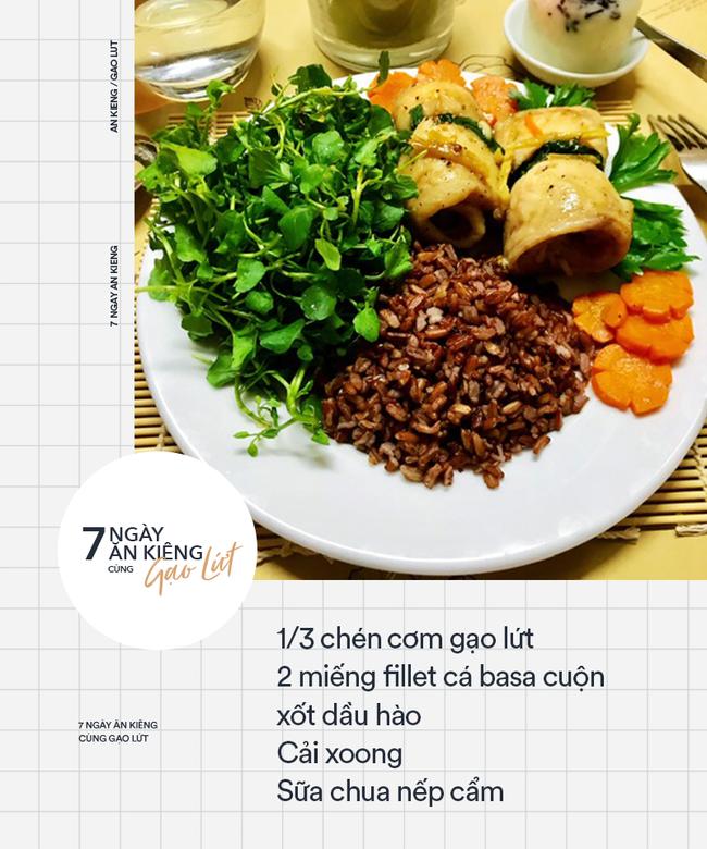 7 ngày ăn kiêng giảm cân với 7 thực đơn gạo lứt ngon - sạch - lành mạnh - Ảnh 7.