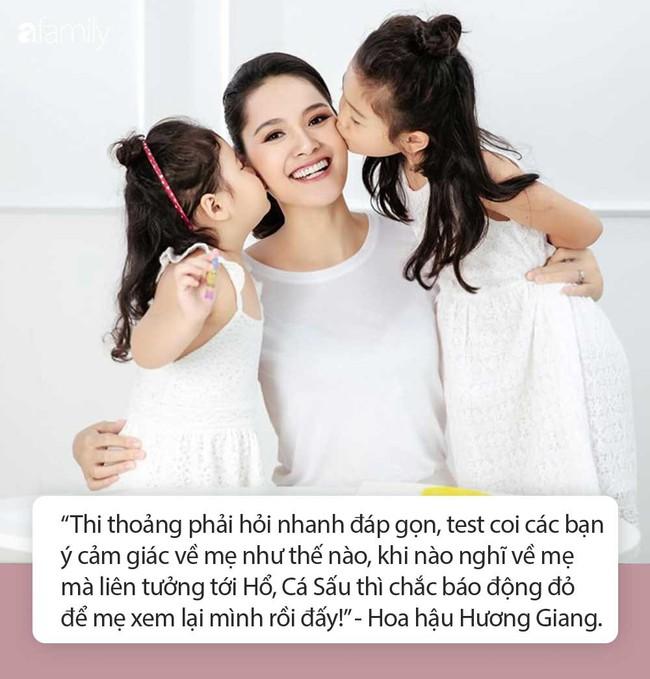 """Hoa hậu Hương Giang chơi trò hỏi nhanh đáp gọn với con gái để """"test cảm giác"""" về mẹ khiến ai cũng bất ngờ - Ảnh 2."""
