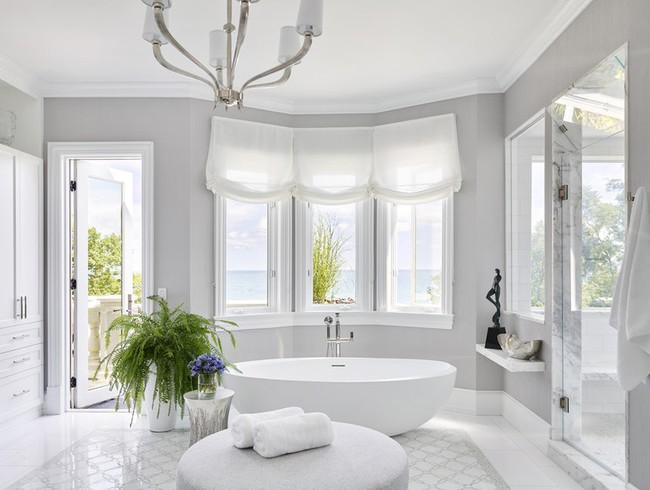 Cùng khám phá những căn phòng tắm nhìn qua khiến ai cũng phải xuýt xoa - Ảnh 7.