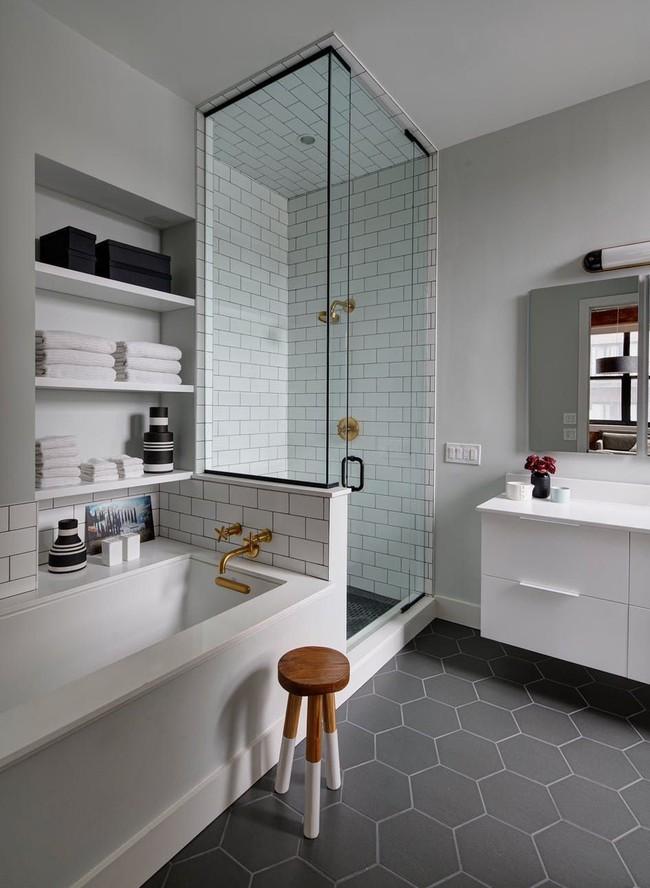 Cùng khám phá những căn phòng tắm nhìn qua khiến ai cũng phải xuýt xoa - Ảnh 15.