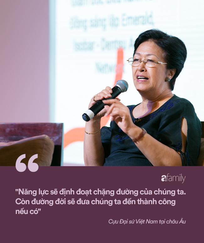 Cựu Đại sứ Việt Nam tại châu Âu - Tôn Nữ Thị Ninh: Đừng nói phụ nữ không thể bắt đầu ở tuổi 40, nếu hẹn nhau ở tuổi 50 tôi còn chưa ngán... - Ảnh 5.